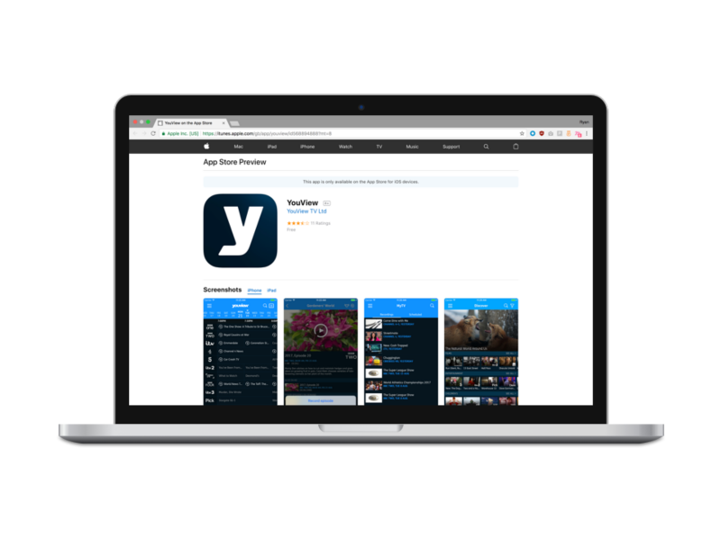 YouView Mobile App Reskin