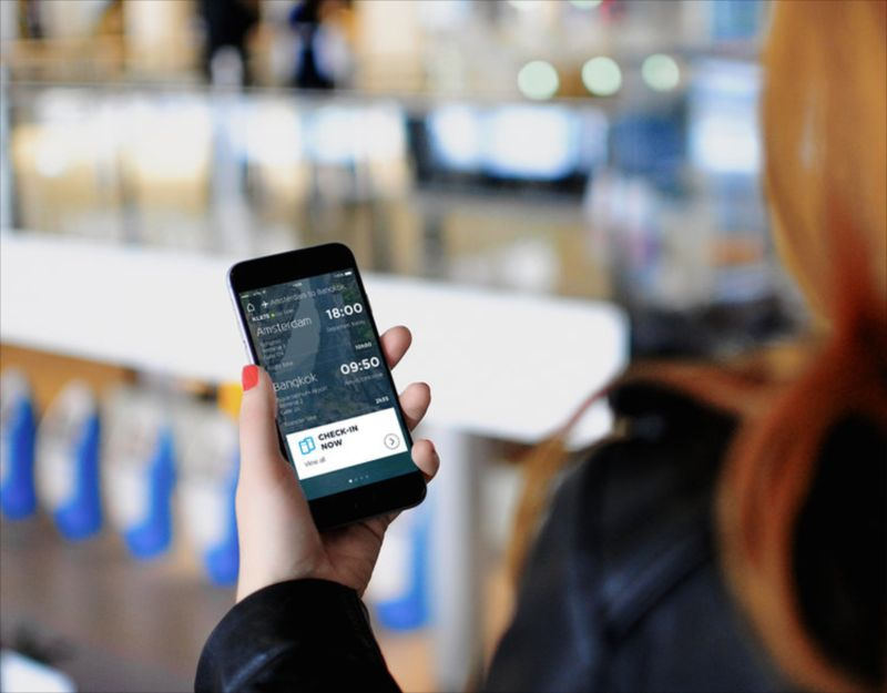 KLM - campaign for the new KLM app