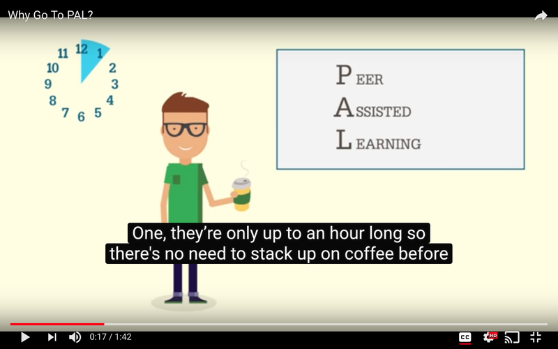 Peer Assisted Learning info videos for Bournemouth University