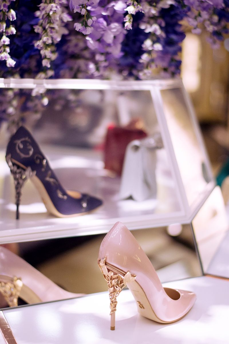 Ralph & Russo AW16 Pop Up - Harrods Shoe Heaven