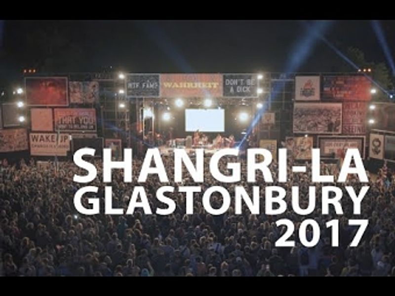 Live Visuals at Truth Stage, Shangrila, Glastonbury 2017-2012