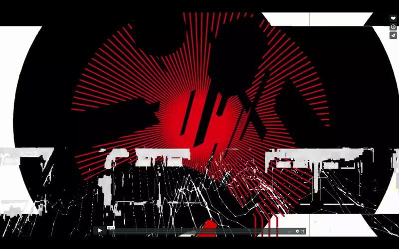 AV set with musician Broken Note