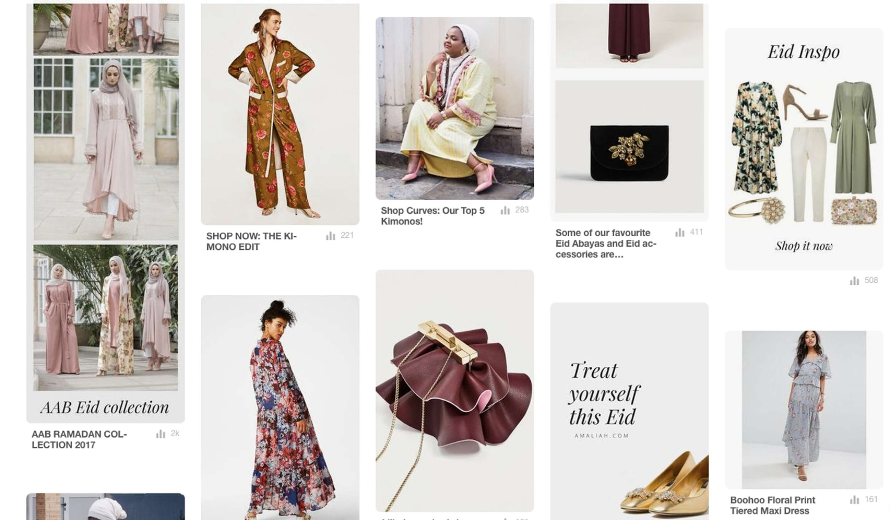 a0566b691846 Amaliah × Pinterest: Our Ramadan and Eid Campaign | The Dots