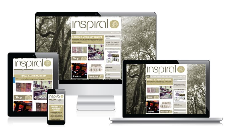 inSpiral Visionary Products - Web design and development