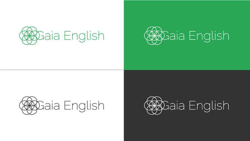 Gaia English - Logo Design - Web Design and development