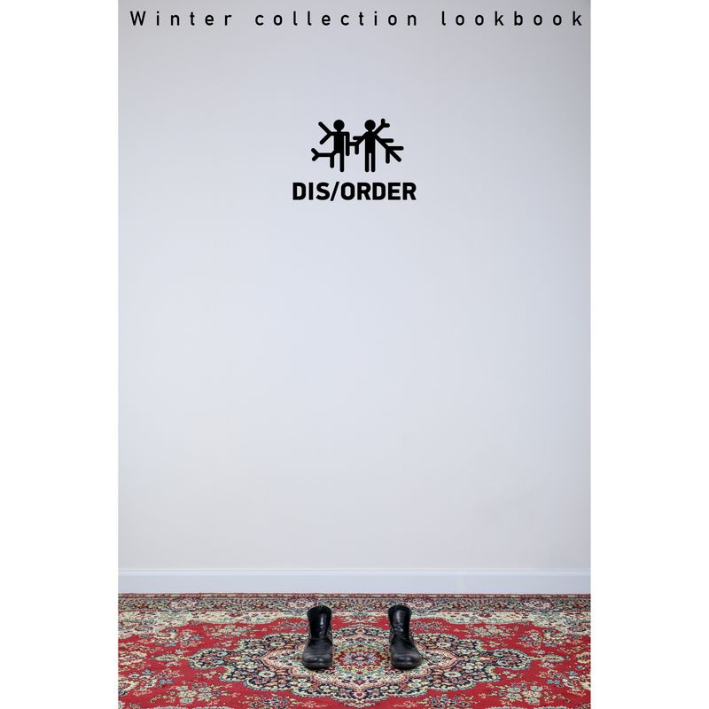Lookbook for Dis\Order winter collection
