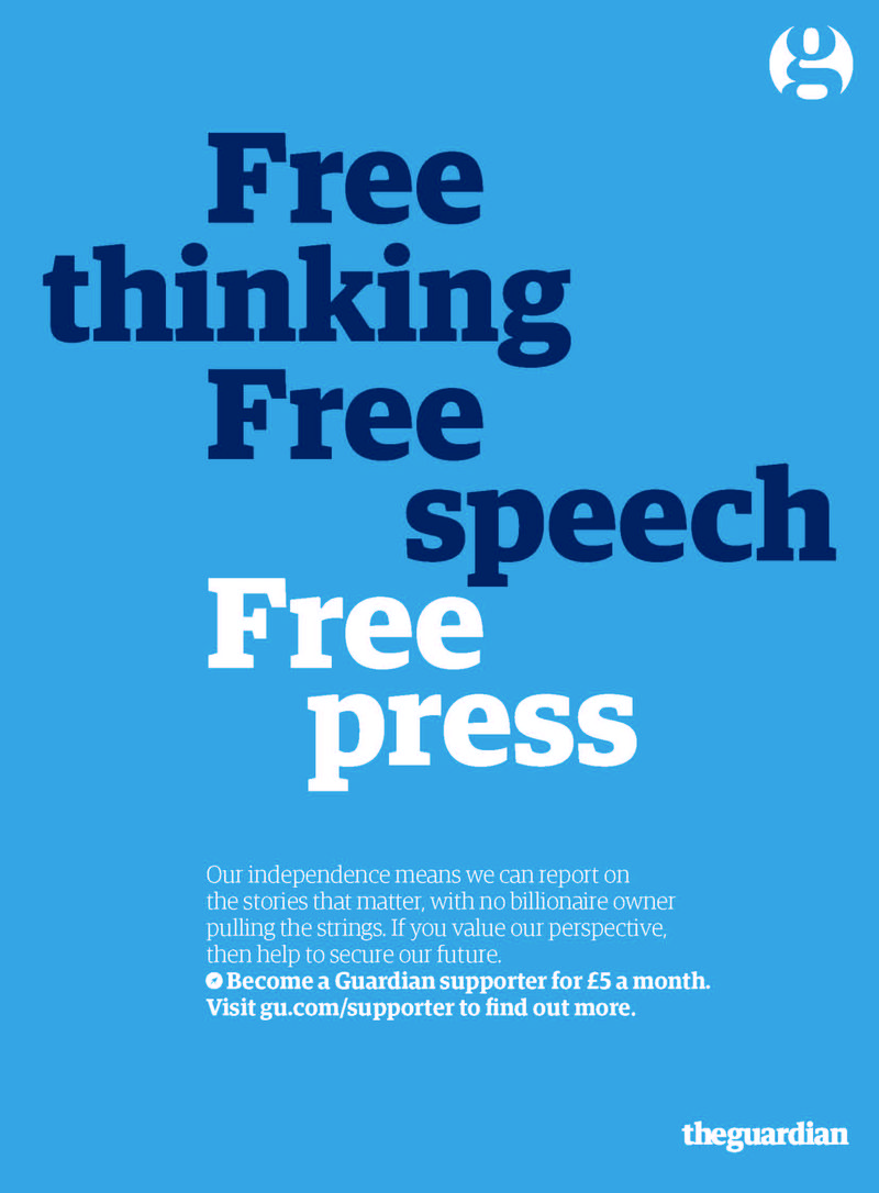 The Guardian: support independent journalism