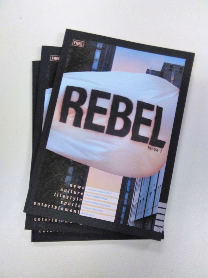 Rebel Mag Issue 1. 128 pages of graphic art