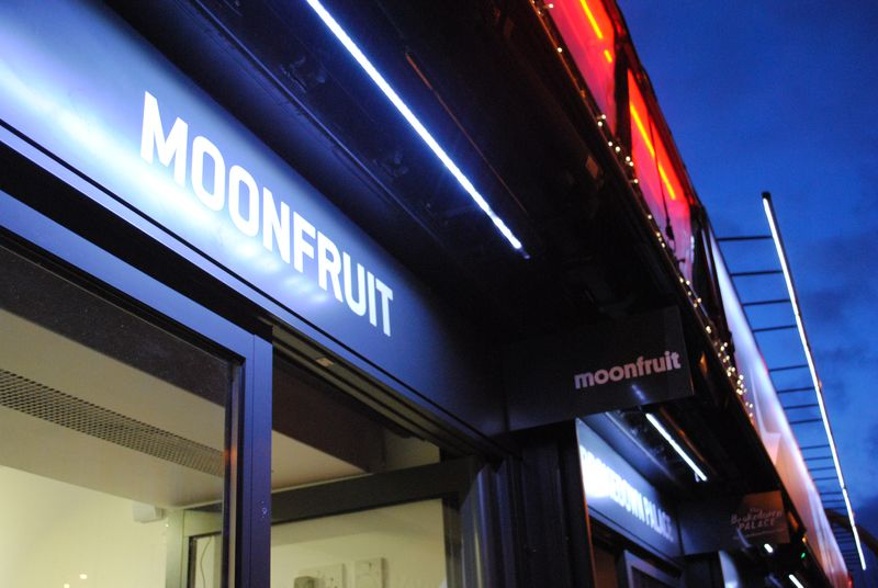 Moonfruit at Boxpark, Shoreditch