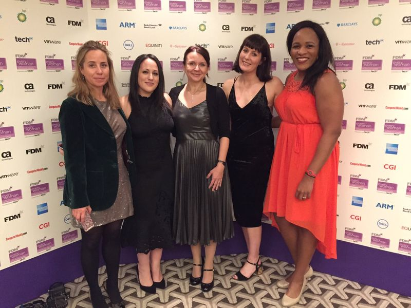 Winner of 2017 FDM Everywoman in Technology Digital Star award