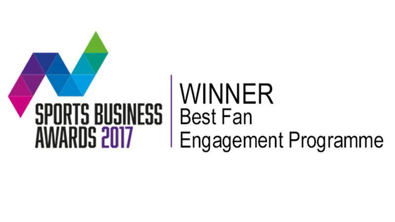 Junior Gunners app win Sports Business Award