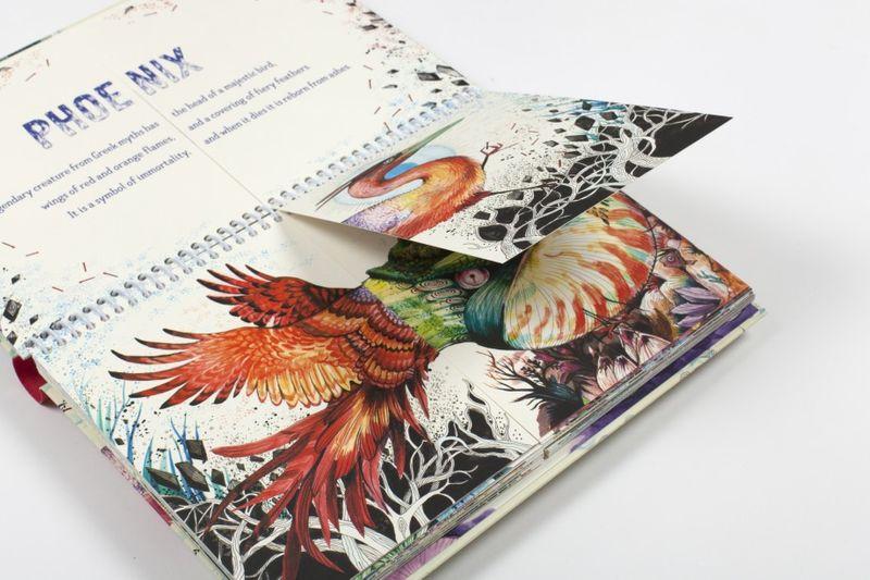 A Fantastical Flipbook of Extraordinary Beasts