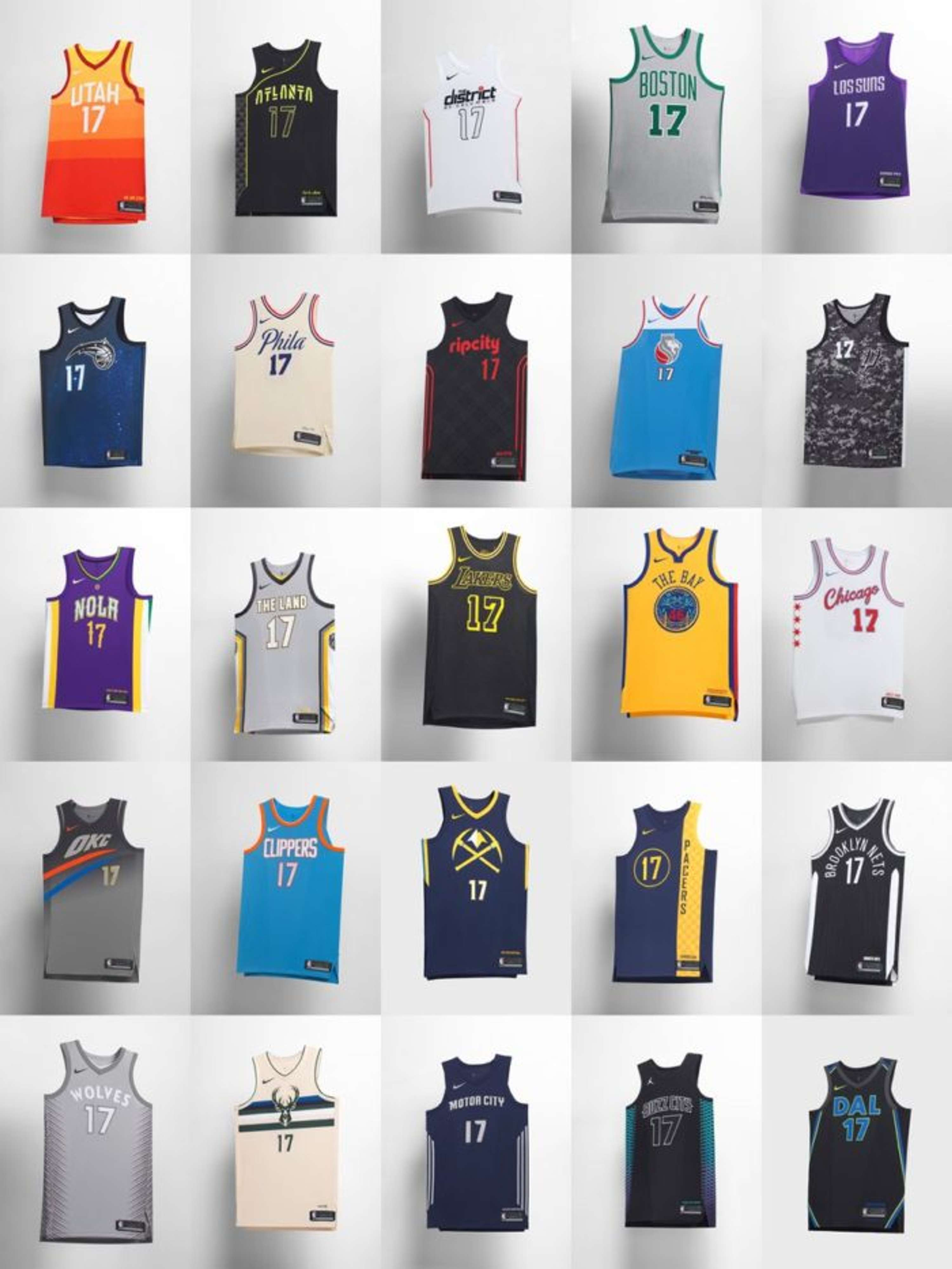 size 40 4d17f 50c6a Nike NBA City Edition Jersey | The Dots