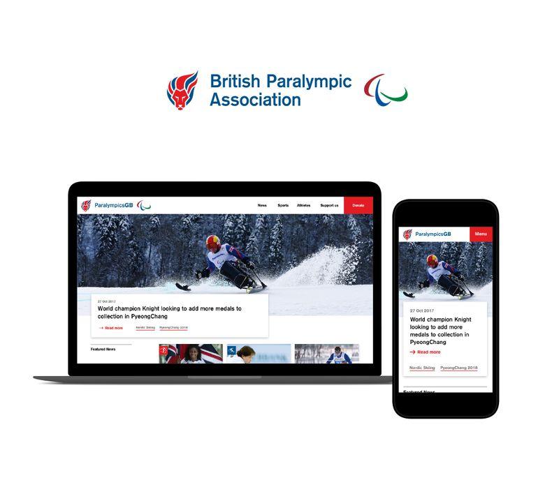 ParalympicsGB Website
