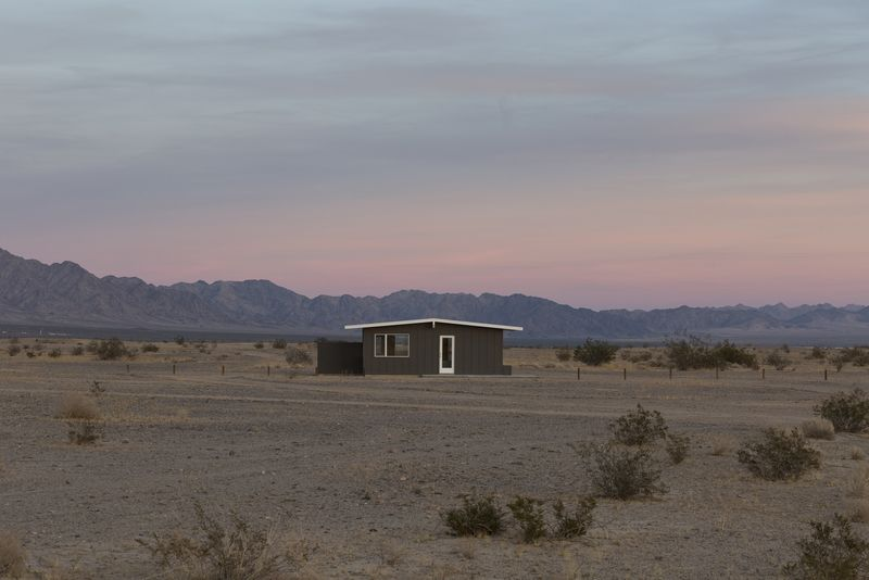 Wonder Valley Experimental Living Cabins