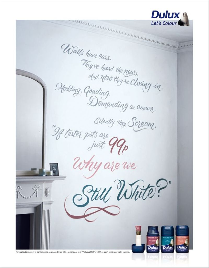 Dulux - The Walls Have Ears...