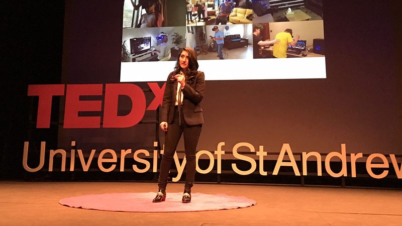 TEDx Talk Navigating the Realms of VR