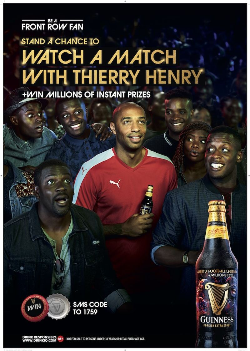 Guinness Africa - Thierry Henri