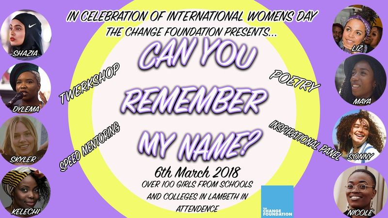 Change Foundation : International Women's Day 2018