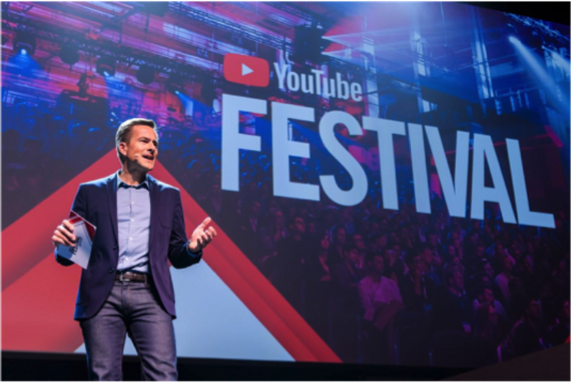 YouTube Festival Production and Concept