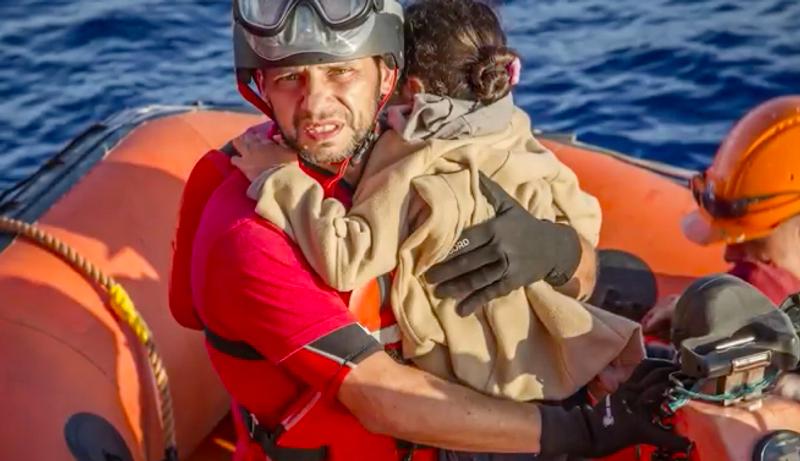 Saving Amena at sea (short doc)