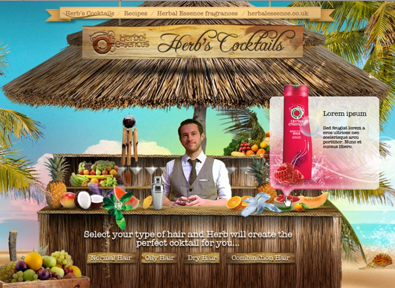 Herb - A mixologist for your hair