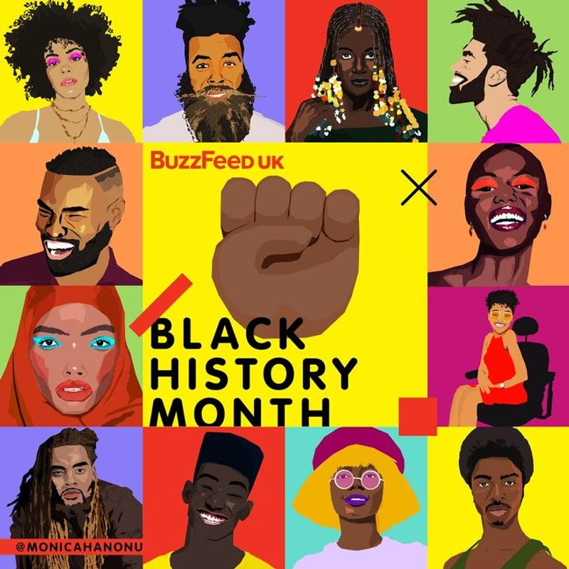 Black History Month, Buzzfeed UK