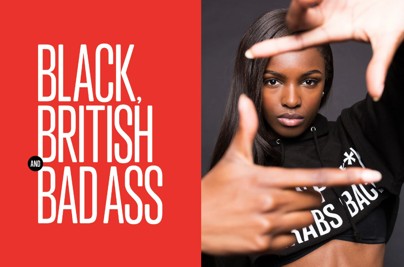 Article: Meet The Black British Model Who's Smashing Barriers