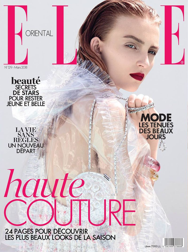 Nicole for Chanel On ELLE Cover