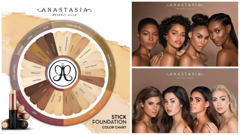 Anastasia Beverly Hills: the beauty brand creates foundation for all skin tones.
