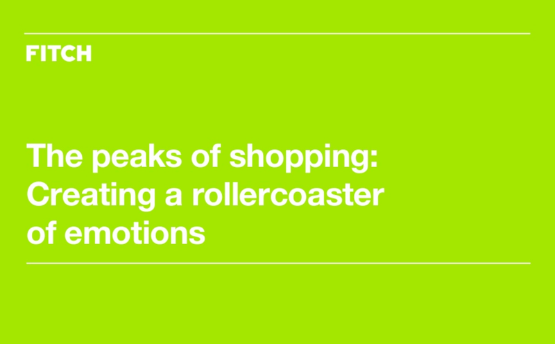 The Peaks of Shopping - Creating a rollercoaster of emotions