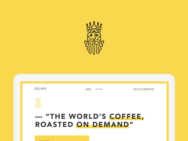 Delirio Website