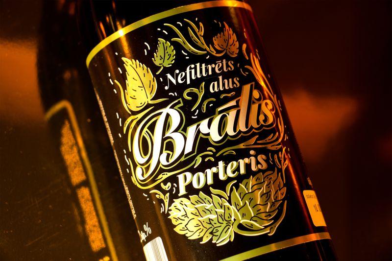 'Bralis' Porter Beer