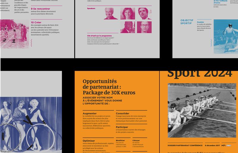 Sport 2024 Editorial design