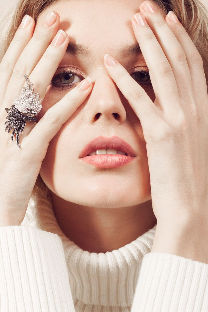 Sunday mood by Nathan Robin with Boucheron jewelry