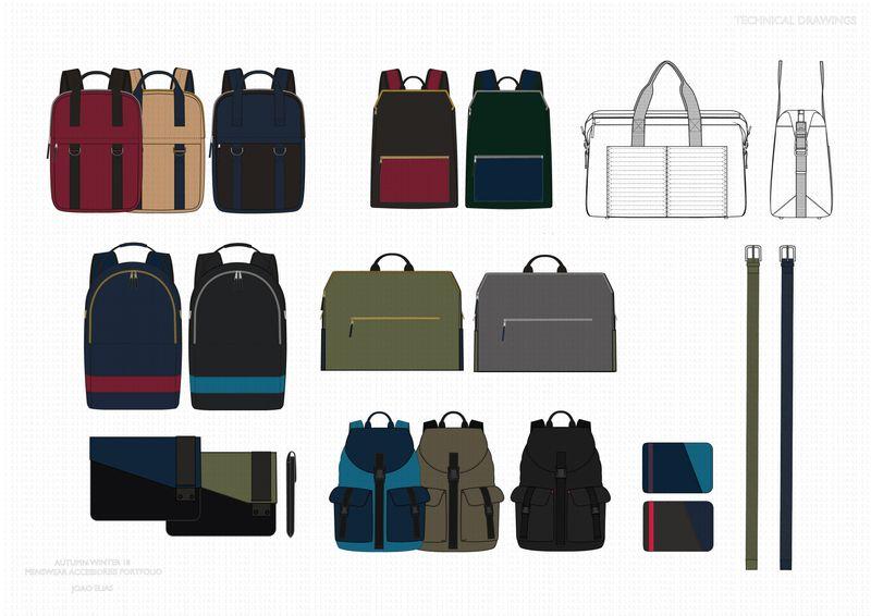Menswear Accessories Sample