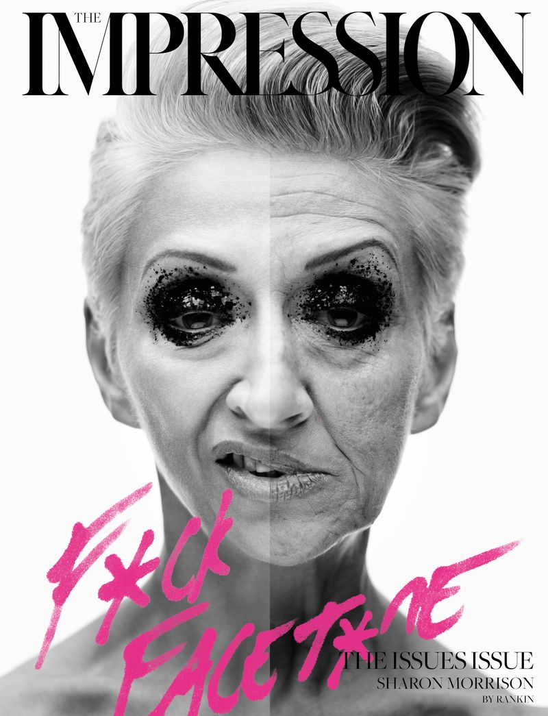 Rankin x The Impression Magazine - F**k Facet*ne