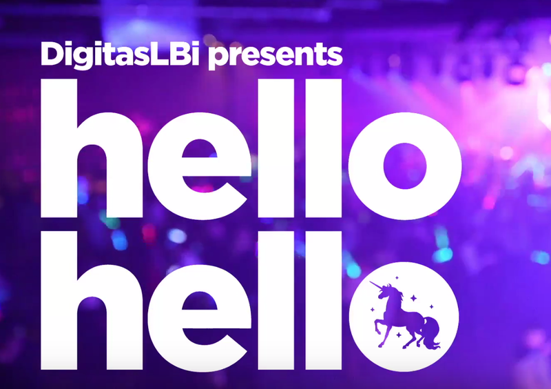 Hello Hello - Digitas Creative Mixer NYC, 2017