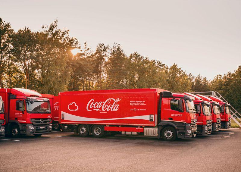 Coca-Cola European Partners Annual Report and Website