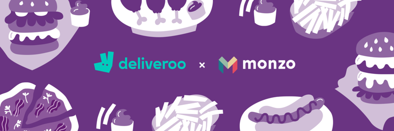 Split the bill with Deliveroo and Monzo