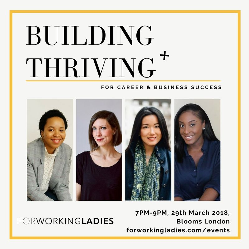 Building + Thriving for Career & Business success - Buy Tickets Here