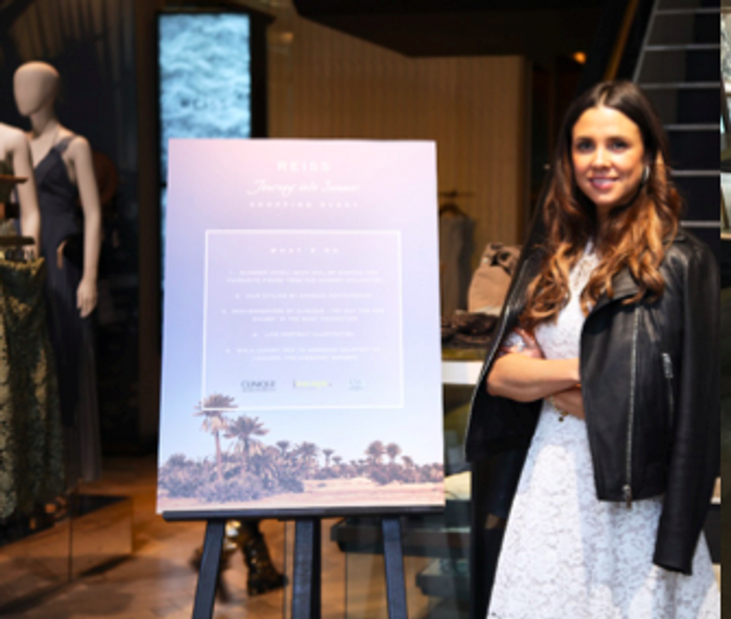 Reiss: Journey into Summer Event with Anneli Bush