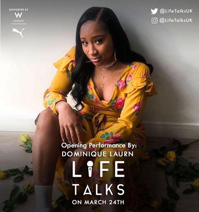 Life Talks UK 2018 - get tickets here.