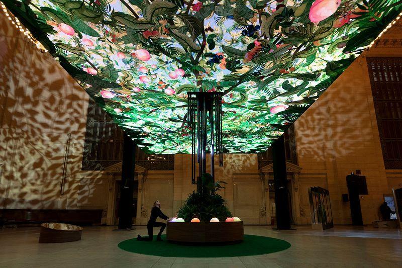 CHOBANI - Hush Studios NYC  - interactive installation