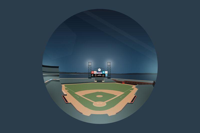 AT&T Stadium Illustration
