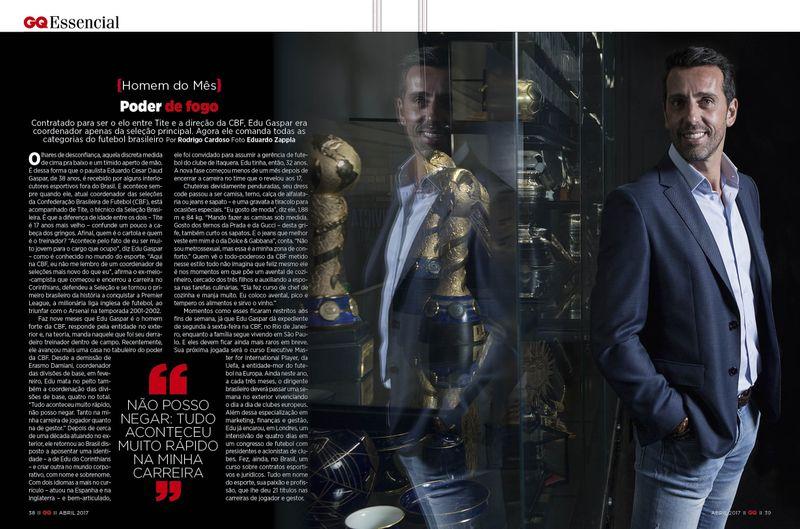 Portrait for GQ magazine Brazil