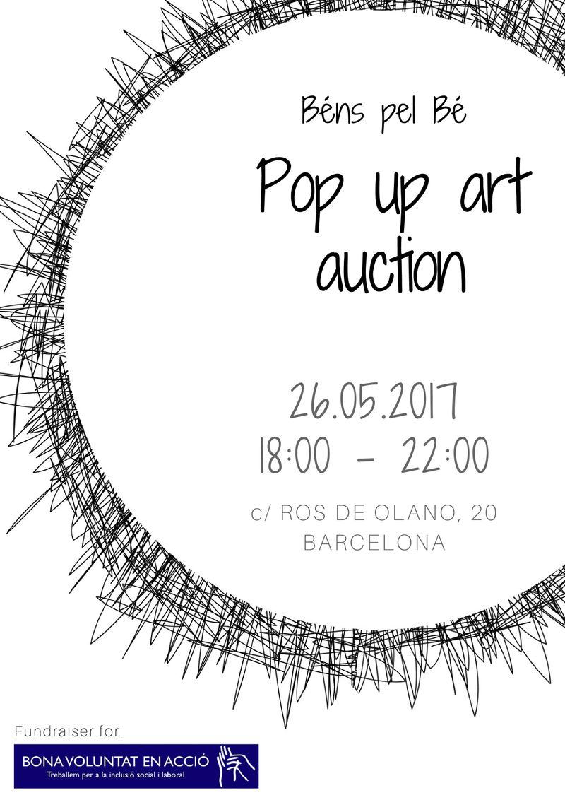 Silent auction project for NGO based in Barcelona