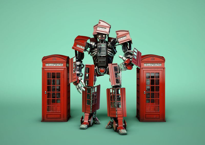 Time Out London- Bots! Transforming London