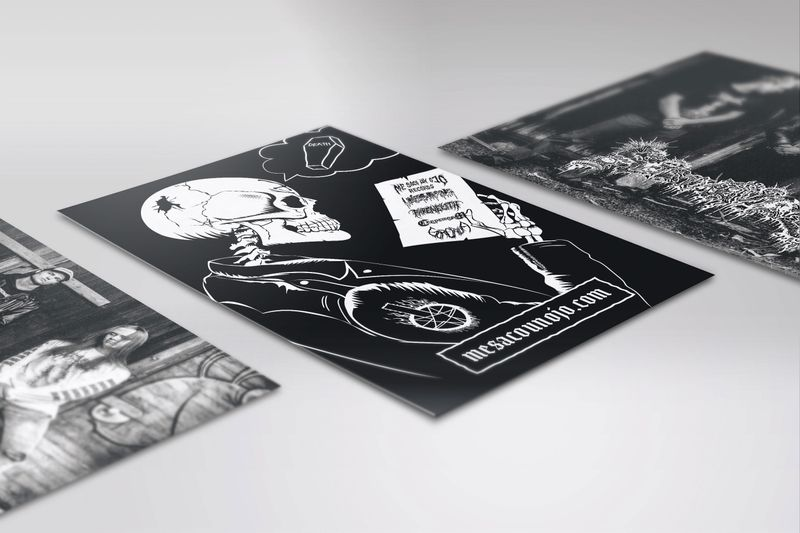 Promotional Flyer / Ad Illustrations