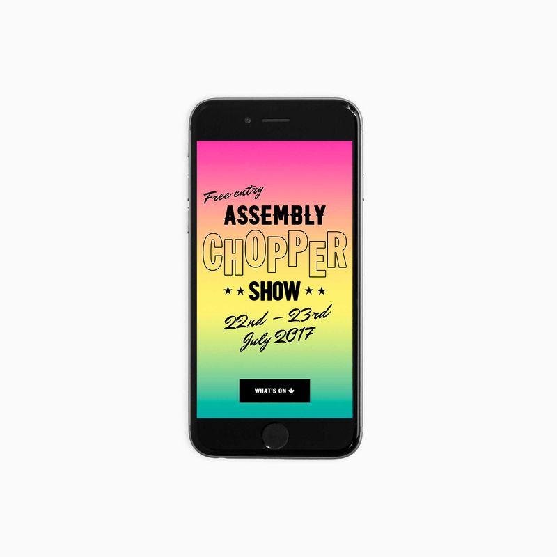Assembly Chopper Show Website